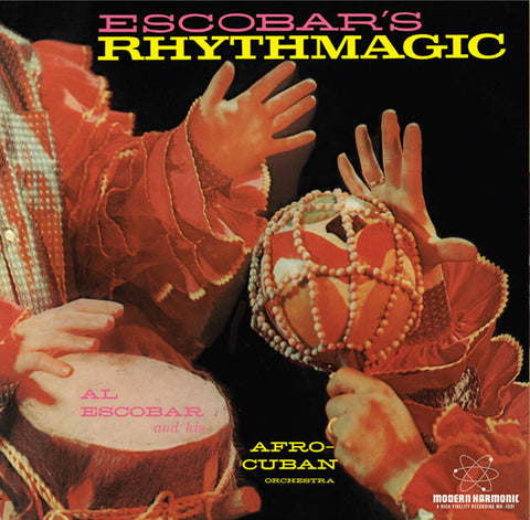 Al Escobar - Rhythm Magic - New Vinyl Record 2016 Sundazed Record Store Day Colored Vinyl Pressing, Limited to 1000 - Jazz / Afro / Cuban