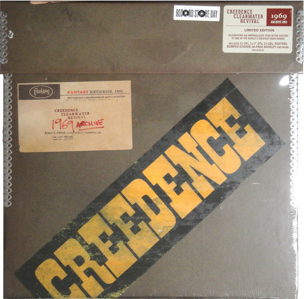 "Creedence Clearwater Revival - 1969 Archive - New Vinyl 2016 Concord / Fantasy Record Store Day Limited Editon 3-LP, 3-7"", 3-CD Boxset w/ Posters, Bumper Sticker, 60pg Book + more! - Rock"