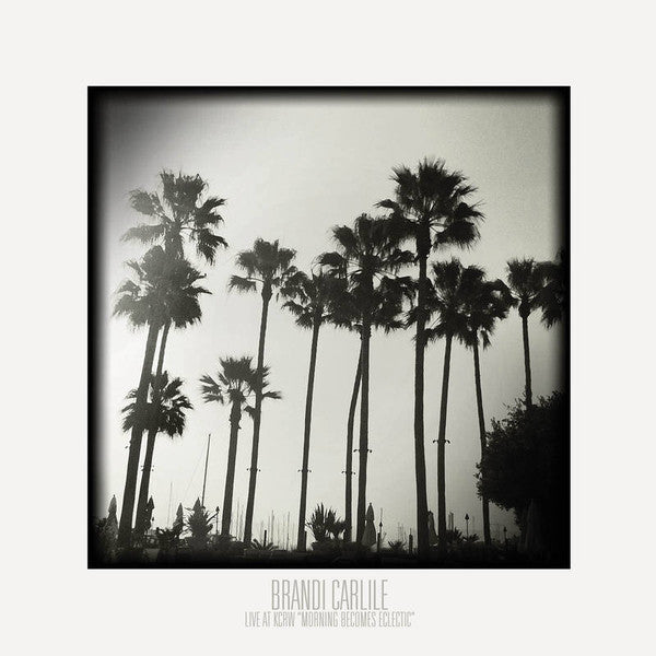Brandi Carlile - Live at KCRW 'Morning Becomes Electric' - New Lp Record 2016 USA Record Store Day White Vinyl & Download - Folk