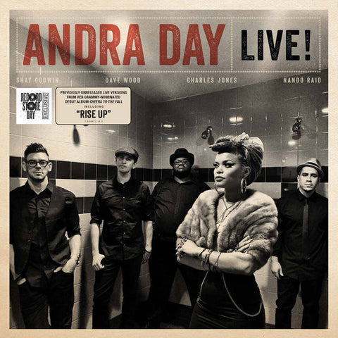 Andra Day - Live - New Vinyl Record 2016 Record Store Day 6 Song EP, Limited to 3000 - Soul / R&B / Jazz
