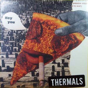 "The Thermals - Hey You - New Vinyl Record 2016 Saddle Creek Record Store Day 7"", Limited to 1000 - Indie / Lo-Fi / Punk"