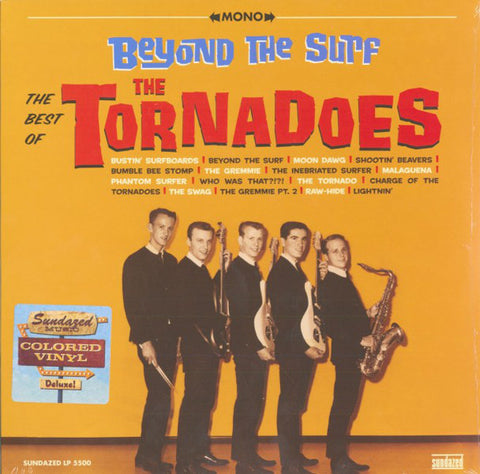 The Tornadoes - Best of / Beyond The Surf - New Vinyl Record 2016 Sundazed Record Store Day Colored Vinyl Pressing, Limited to 1000 - Surf / Rock