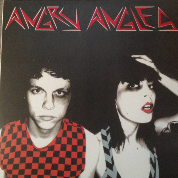 Angry Angles (Jay Reatard + Alix Brown) - S/T - New Vinyl Record 2016 Goner Records LP + Download - Indie / Garage / New Wave (FU: Jay Reatard)