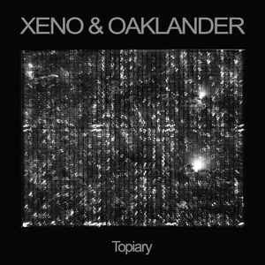 Xeno & Oaklander - Topiary - New Vinyl 2016 Ghostly International Limited Edition Half Clear / Half Black LP + Download - Electronic / Synthpop