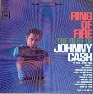 Johnny Cash - Ring of Fire - VG+ Stereo 1963 USA (Original Press) - Country
