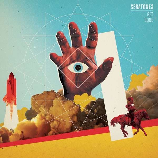 Seratones - Get Gone - New Vinyl Record 2016 Fat Possum LP + Download - Rock / Soul-Rock