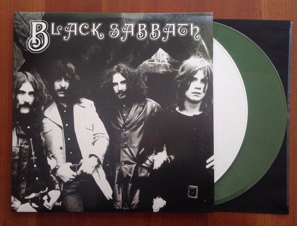 Black Sabbath ‎– Live At Convention Hall August 5, 1975 Ashbury, New Jersey - New Vinyl Record 2 Lp Set 2016 Import (Green & Black Vinyl) - Rock/Metal