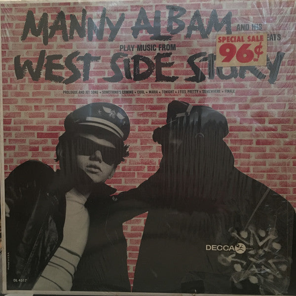 Manny Albam - West Side Story VG - 1964 Decca Mono USA - Jazz
