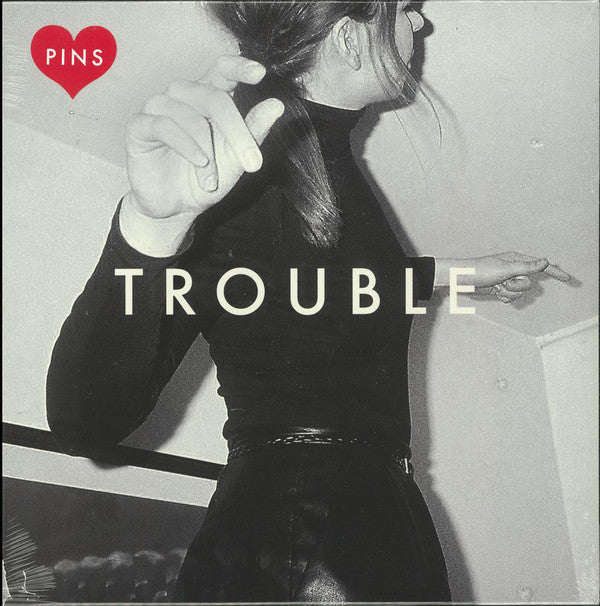 "Pins - Trouble - New 10"" Ep Record Store Day 2016 Bella Union UK Import RSD Red Vinyl  - Indie Rock"