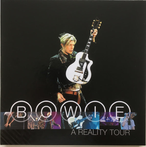 David Bowie - A Reality Tour - New Vinyl Record 2016 Friday Music Limited Edition 3-LP Box Set on 180gram Translucent Blue Vinyl - Rock / Pop