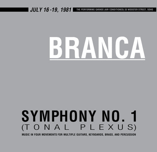 Glenn Branca - Symphony No. 1 (Tonal Plexus) - New Vinyl Record 2016 Limited Edition Remastered 2-LP 180gram Gatefold Pressing - Rock / Avant Garde / Experimental