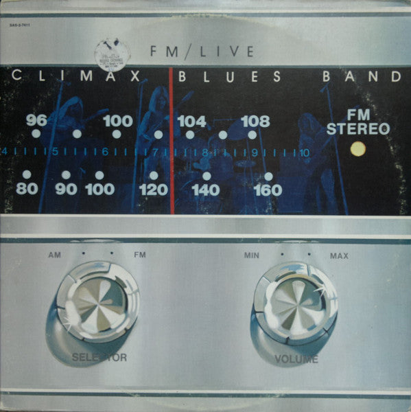 Climax Blues Band ‎– FM/Live - VG+ 1974 Stereo 2 LP Set USA Original Press - Rock