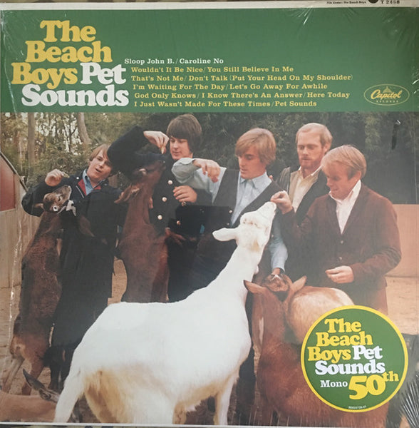 The Beach Boys - Pet Sounds - New Vinyl Record 2016 50th Anniversary Limited Edition MONO VERSION Reissue - Surf Rock