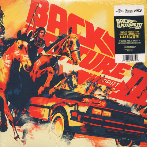 Alan Silvestri - Back to the Future Part III - New 2 Lp Record 2016 Mondo 180 gram Vinyl - Soundtrack