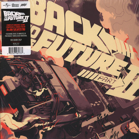 Alan Silvestri - Back to the Future Part II - New 2 Lp Record 2016 Mondo USA 180 gram Vinyl - Soundtrack