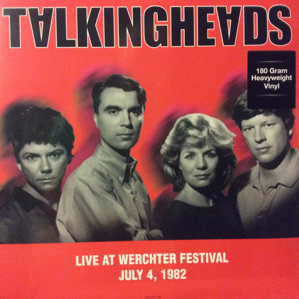 Talking Heads - Live at Werchter Festival July 4, 1982 - New Vinyl 2016 DOL EU 180gram Pressing - New Wave / Worldbeat / Post-Punk