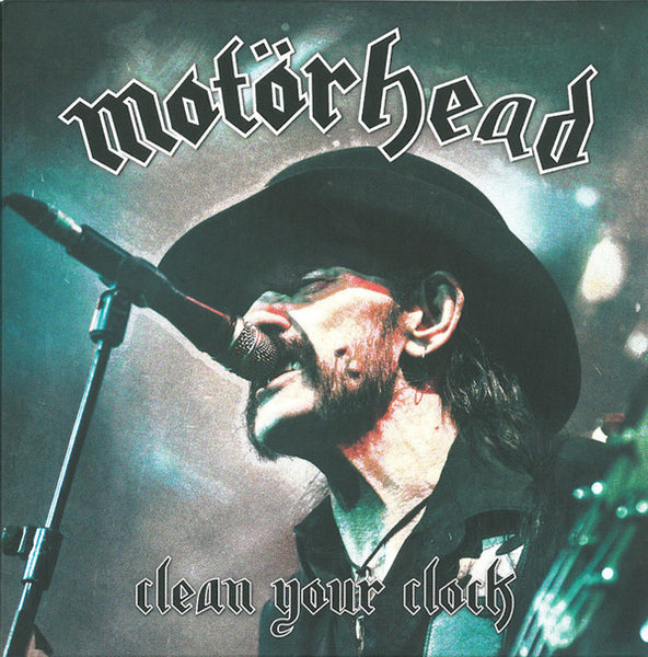 Motorhead - Clean Your Clock - New Vinyl 2016 UDR Germany Gatefold 2-LP Colored Vinyl w/ Pop Up Art Cover - Metal / Classic-Metal