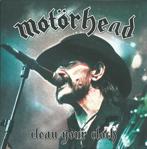Motorhead - Clean Your Clock - New Vinyl Record 2016 UDR Germany Gatefold 2-LP Colored Vinyl w/ Pop Up Art Cover - Metal / Classic-Metal