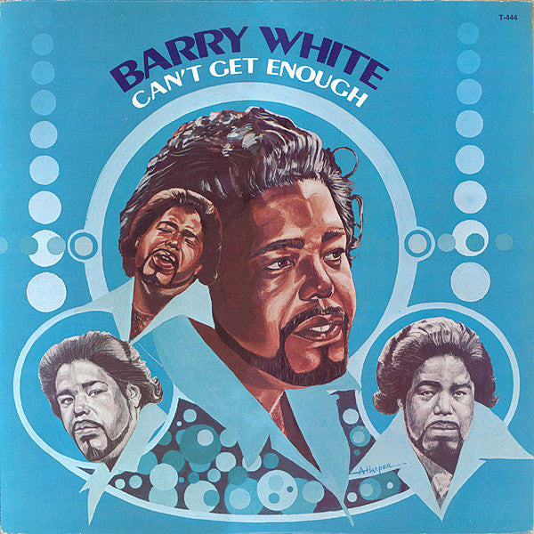 Barry White - Can't Get Enough - VG+ 1974 Stereo (Original Press) USA - Soul/Funk - B16-031