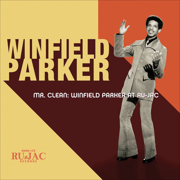 Winfield Parker - Mr. Clean: Winfield at Ru-Jac - New Vinyl 2016 Ru-Jac Records Limited Edition 1st Press on Orange Vinyl + Download - Soul