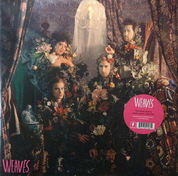 Weaves - S/T - New Vinyl Record 2016 Kanine Records Limited Edition Gatefold on Neon Pink Vinyl + Download - Indie / Art-Rock / Experimental Rock