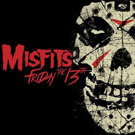 The Misfits - Friday the 13th - New Lp Record 2016 Europe Bone & Red Blood Splatter Vinyl - Punk Rock