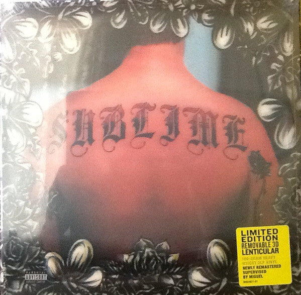 Sublime ‎– Sublime - New 2 Lp Record 201 Limited Edition 3 D Lenticular Cover on 180gram Vinyl - Ska-Punk / Alt-Rock / Reggae Rock
