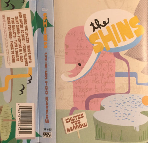 The Shins - Chutes Too Narrow - New Cassette Album 2016 Sub Pop USA Pink Tape - Indie Rock / Indie Pop