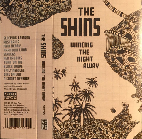 The Shins - Wincing the Night Away - New Cassette Album 2016 Sub Pop USA Green Tape - Indie Rock