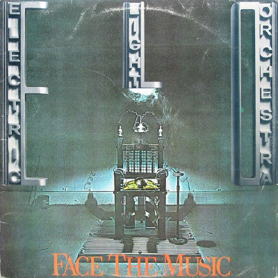Electric Light Orchestra - Face The Music - New Vinyl 2016 Sony / Legacy Deluxe Audiophile 180gram Vinyl, Individually Numbered on Clear Vinyl - Rock / Classic