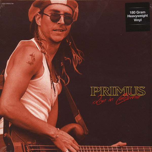 Primus ‎– Live In California : Live at Stanford University, Palo Alto, CA - May 3rd 1989 & 1993 - New Vinyl 2016 (Europe Import 180 Gram) - Rock