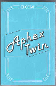 Aphex Twin - Cheetah - New Cassette 2016 Warp Records Limited Edition Cassette EP - IDM / Breakbeat / Downtempo