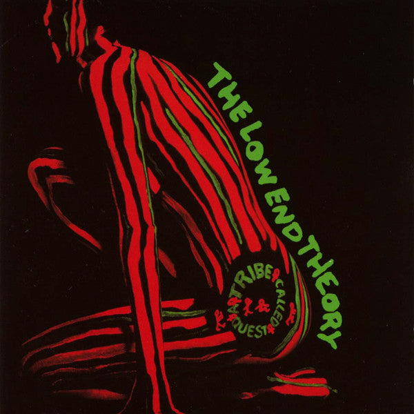 A Tribe Called Quest ‎– The Low End Theory(1991) - VG 1996 Promo USA 2 LP Set - Hip Hop