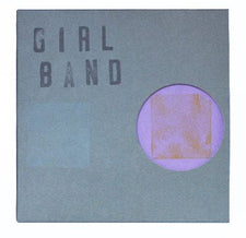 "Girl Band - In Plastic - New Vinyl Record 2016 Rough Trade 7"" Limited Edition of 500, Individually numbered with unique di-cut covers and hand stamped name. - Post-Punk / Noise / No-Wave"