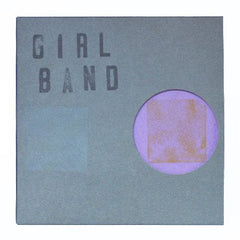 "Girl Band - In Plastic - New Vinyl 2016 Rough Trade 7"" Limited Edition of 500, Individually numbered with unique di-cut covers and hand stamped name. - Post-Punk / Noise / No-Wave"