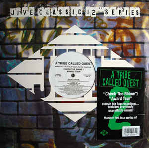 "A Tribe Called Quest – Check The Rhime / Award Tour - VG- 12"" USA 1997 - Hip Hop - Shuga Records Chicago"