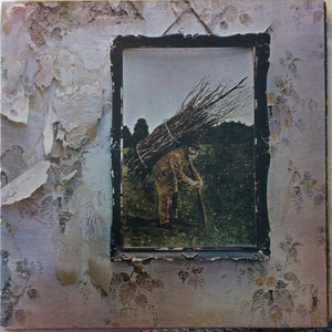 Led Zeppelin ‎–  Untitled / IV / 4 / Stairway To Heaven - VG- (lower grade) Lp Record 1971 Atlantic USA Vinyl - Classic Rock / Hard Rock