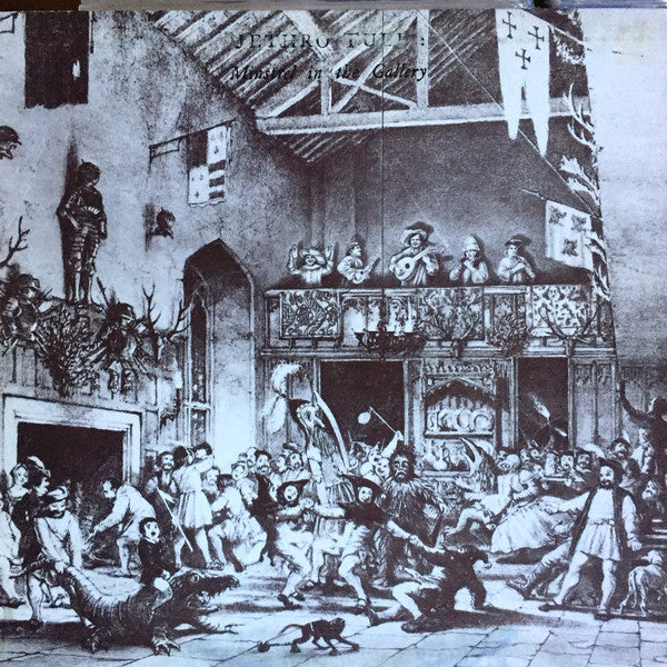 Jethro Tull ‎– Minstrel In The Gallery - VG+ Lp Record 1975 Stereo Original USA - Prog Rock / Folk Rock