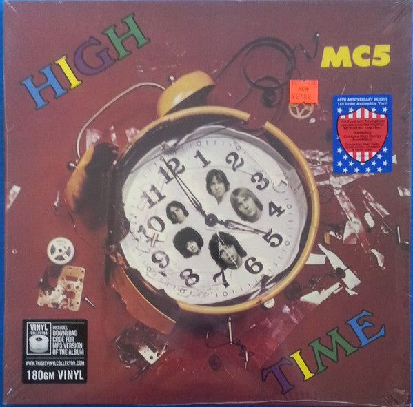 MC5 - High Time (1971) - New Lp Record 2016 Atlantic USA 180 gram Vinyl  - Garage Rock / Psychedelic Rock