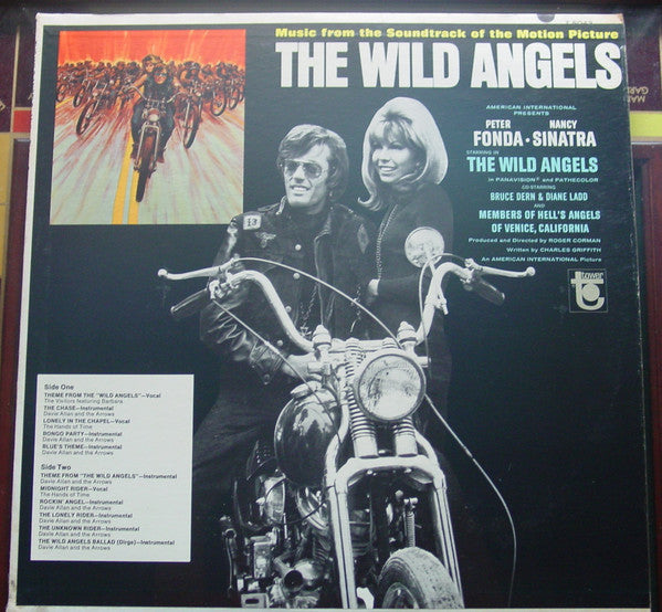 Various – The Wild Angels - VG 1966 Mono USA - Soundtrack