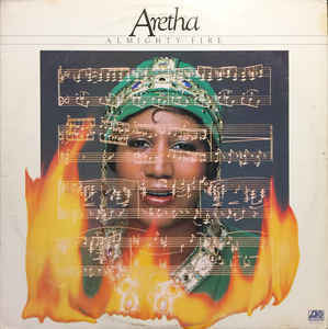 Aretha Franklin ‎– Almighty Fire - VG+ 1978 USA Promo - Soul/Funk