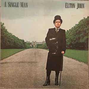 Elton John - A Single Man - VG+ 1978 Stereo USA Original Press  - Rock / Pop