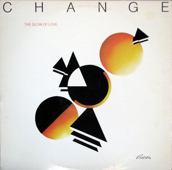 Change ‎– The Glow Of Love - VG Lp Record 1980 USA Original Vinyl - Funk / Disco