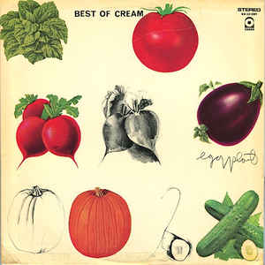 Cream ‎– Best Of Cream - VG+ 1969 Stereo Original Press USA - Classic Rock