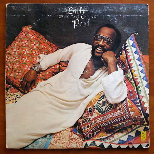 Billy Paul ‎– When Love Is New - VG+ (vg cover) Record Lp 1975 Stereo USA - Soul / Disco / Funk