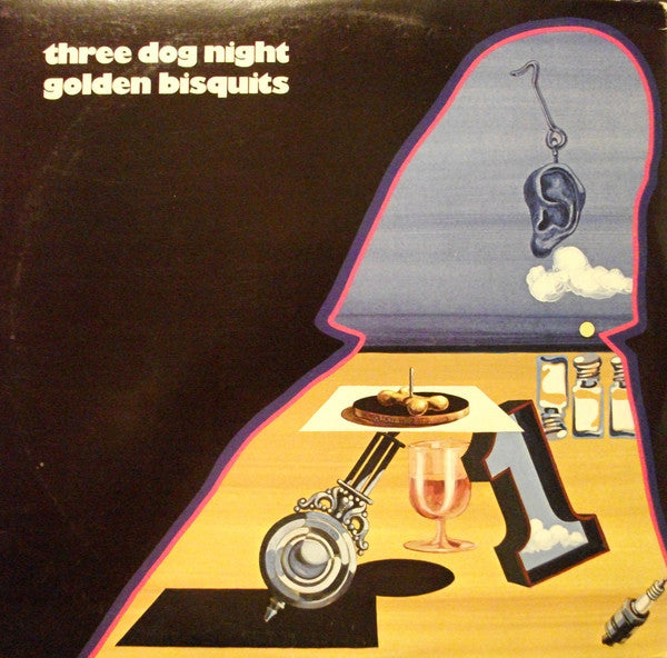 Three Dog Night ‎– Golden Bisquits - VG Lp Record Stereo 1971 Original Vinyl & Poster USA - Classic Rock