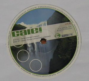 "Caie! – Career Changer 12"" Single 2007 German Import - Tech House / Minimal"