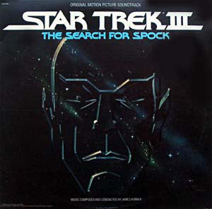 James Horner ‎– Star Trek III: The Search For Spock (Original Motion Picture) - Mint- 2 Lp Record 1984 Original USA - Soundtrack