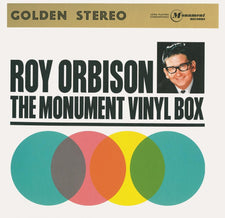 Roy Orbison ‎– The Monument Vinyl Box - New Vinyl 2013 Legacy / Monument 180Gram 4-LP Complilation Record Store 'Black Friday' Box Set (Numbered!) - Rock