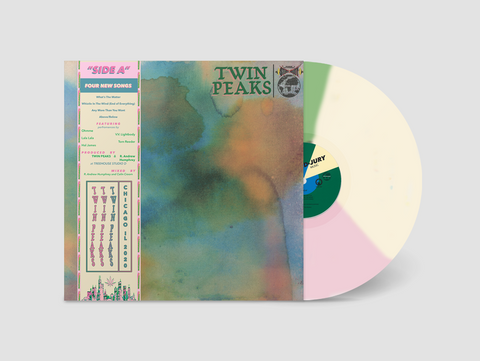 "(Pre-Order) Twin Peaks - Side A - New 10"" Ep Record 2020 Grand Jury Shuga Records Exclusive Tri-Color Minty Meltaway Vinyl, Numbered & OBI - Garage Rock"